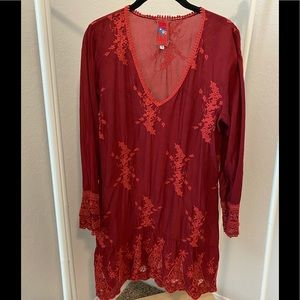 Johnny Was | Burgundy Tunic